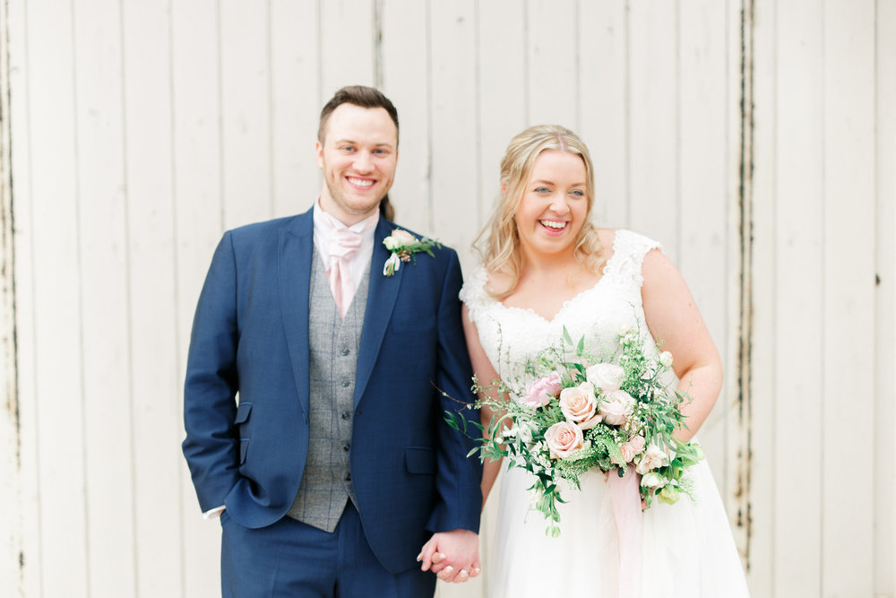 Blush spring wedding in Oxfordshire