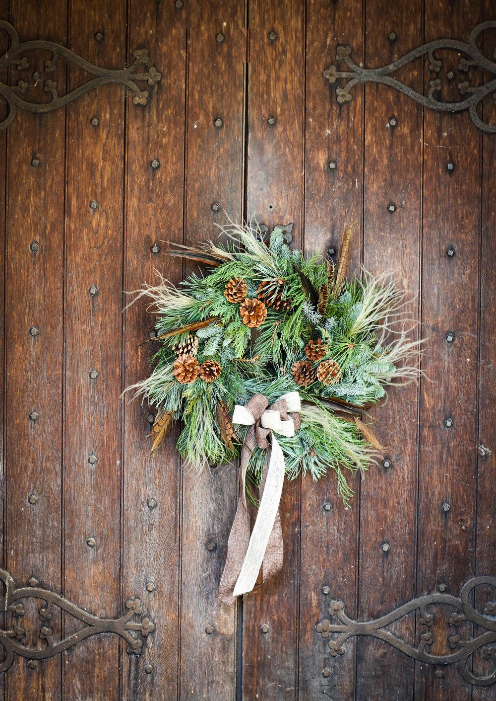 Christmas wreath Workshops 2016