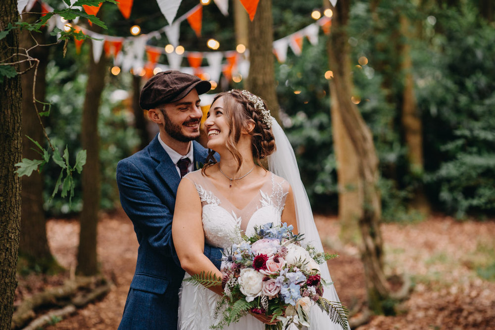 Woodland wedding at Lila's Wood Hertfordshire