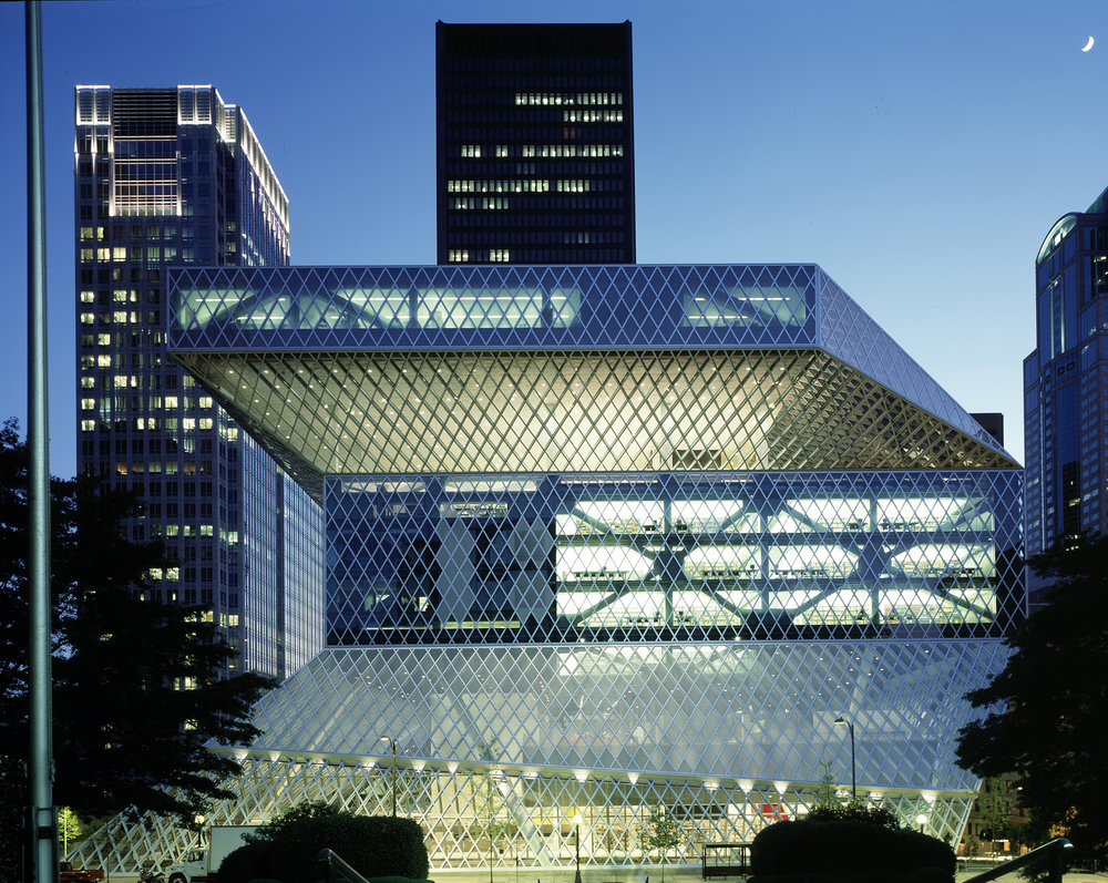 Seattle Central Library, 2004