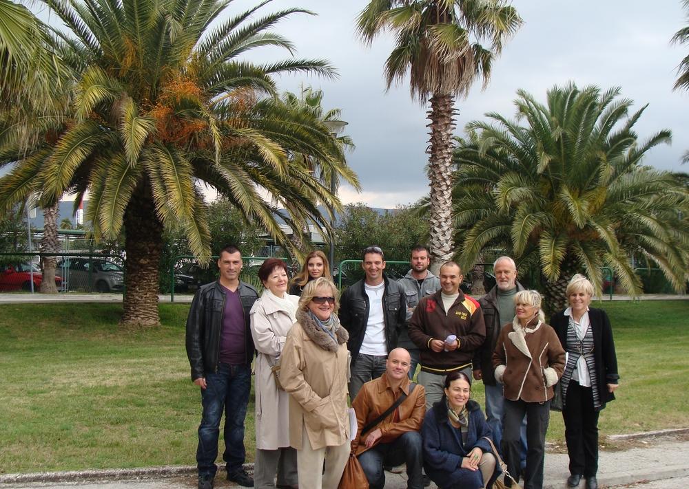Osnivači Hrvatske udruge ljubitelja palmi - Croatian Palm Society
