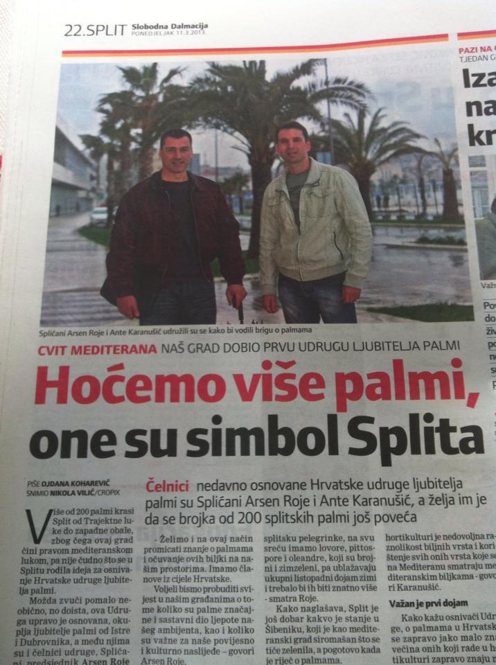 Slobodna Dalmacija 11.03.2013. godine Vidi članak.