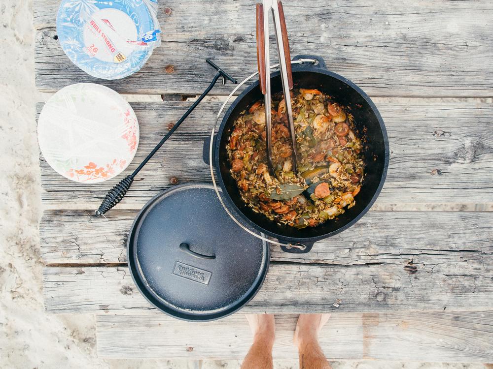 Camp Cookery - Jambalaya