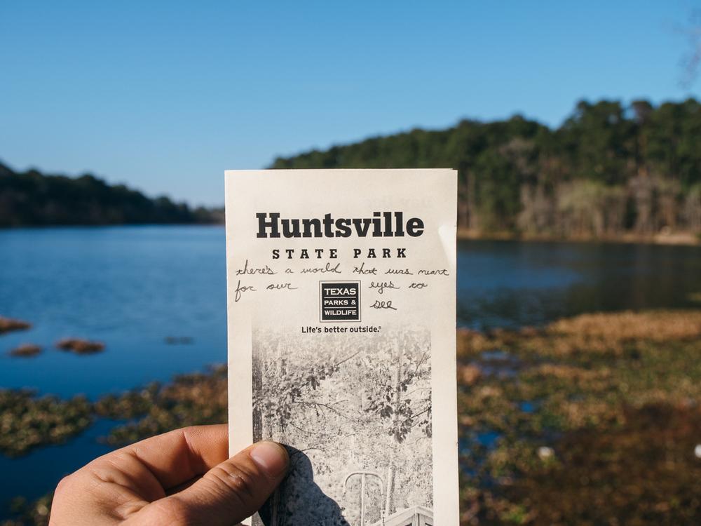 Huntsville State park, texas