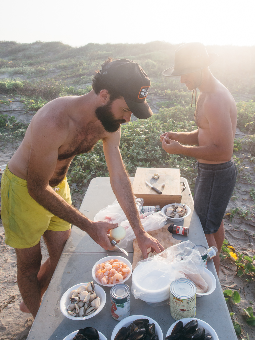 texas camp camping cookery campvibes cioppino fish america yall pawlowski 4