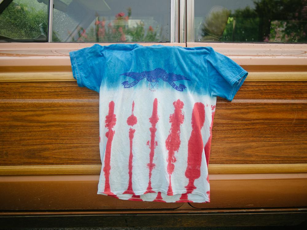 Store - Tie dye eagle t-shirt