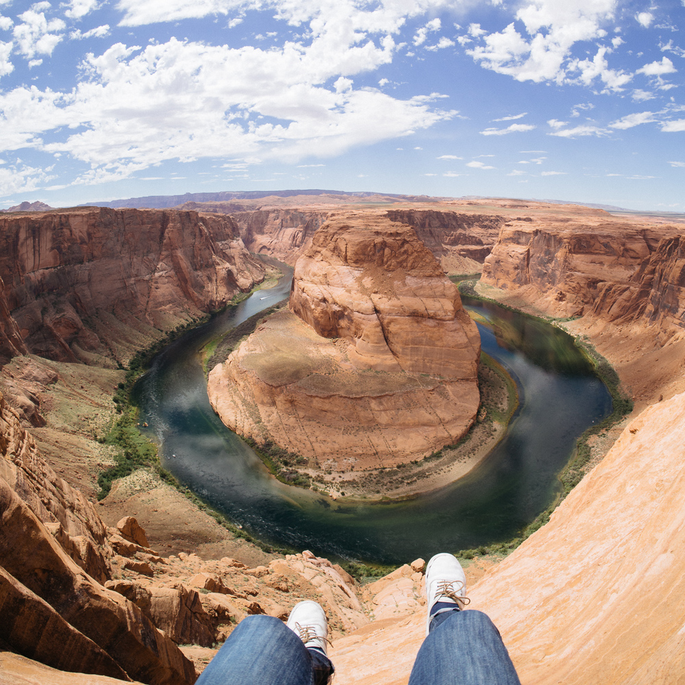 new mexico arizona utah lake powell arches motorcycle america yall americayall pawlowski camp camping horseshoe bend