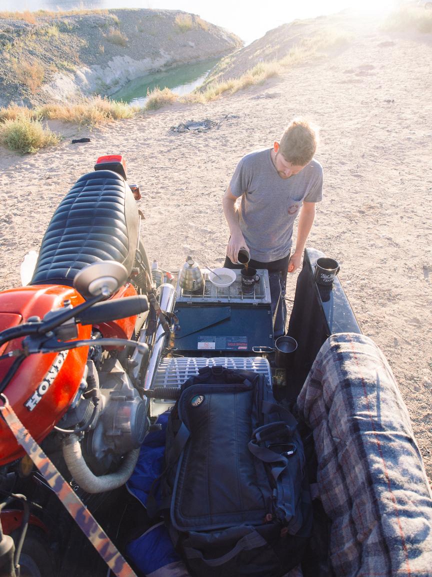 new mexico arizona utah lake powell arches motorcycle america yall americayall pawlowski camp camping coffee
