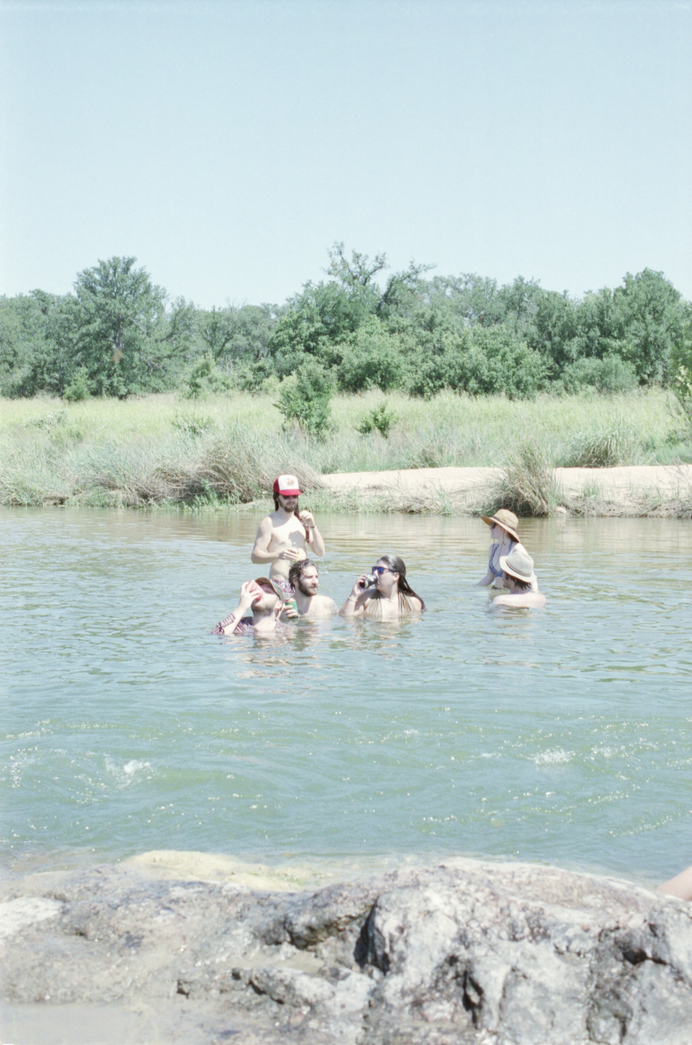 water swim swimming llano texas camp america 35mm