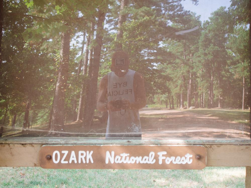 arkansas oklahoma bison camp camping ozarks truck dog america yall pawlowski vsco olympus omd em5 ozark