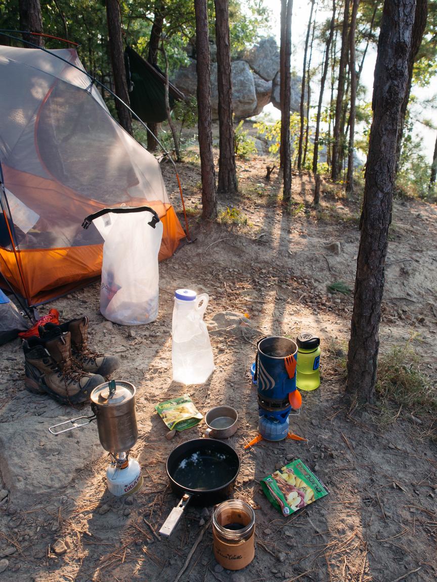 arkansas oklahoma bison camp camping ozarks truck dog america yall pawlowski vsco olympus omd em5 coffee