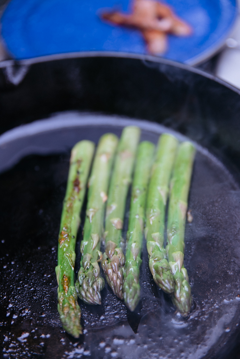 america yall cooking americayall pawlowski camp camping asparagus eggs cast iron texas vsco nikon veggie
