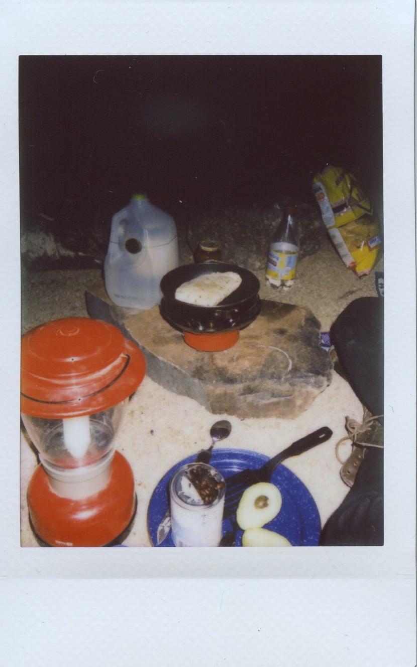 fuji instax salvation mountain california joshua tree simpson