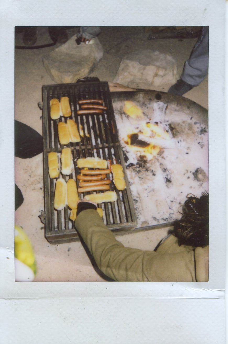 fuji instax salvation mountain california joshua tree food