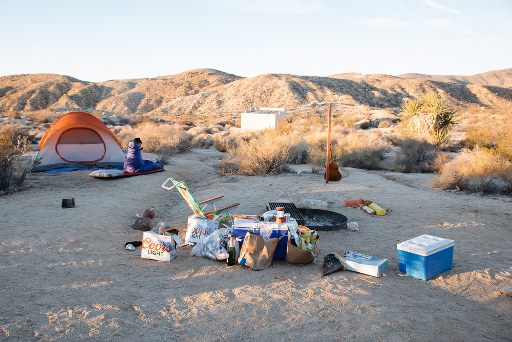 america yall jeremy pawlowski lauren simpson joshua tree national park california vsco camping party