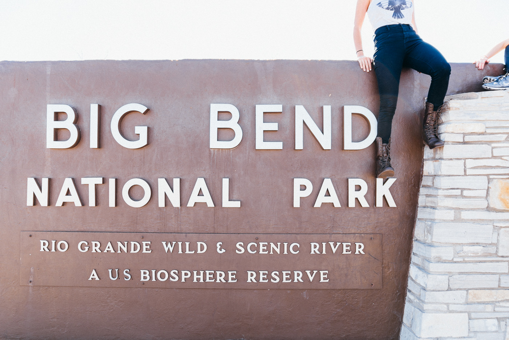 big bend national park texas camping road trip america yall sign