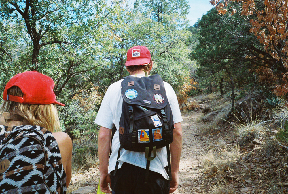 film 35mm lomo olympus hike camp big bend texas america yall pawlowski packs