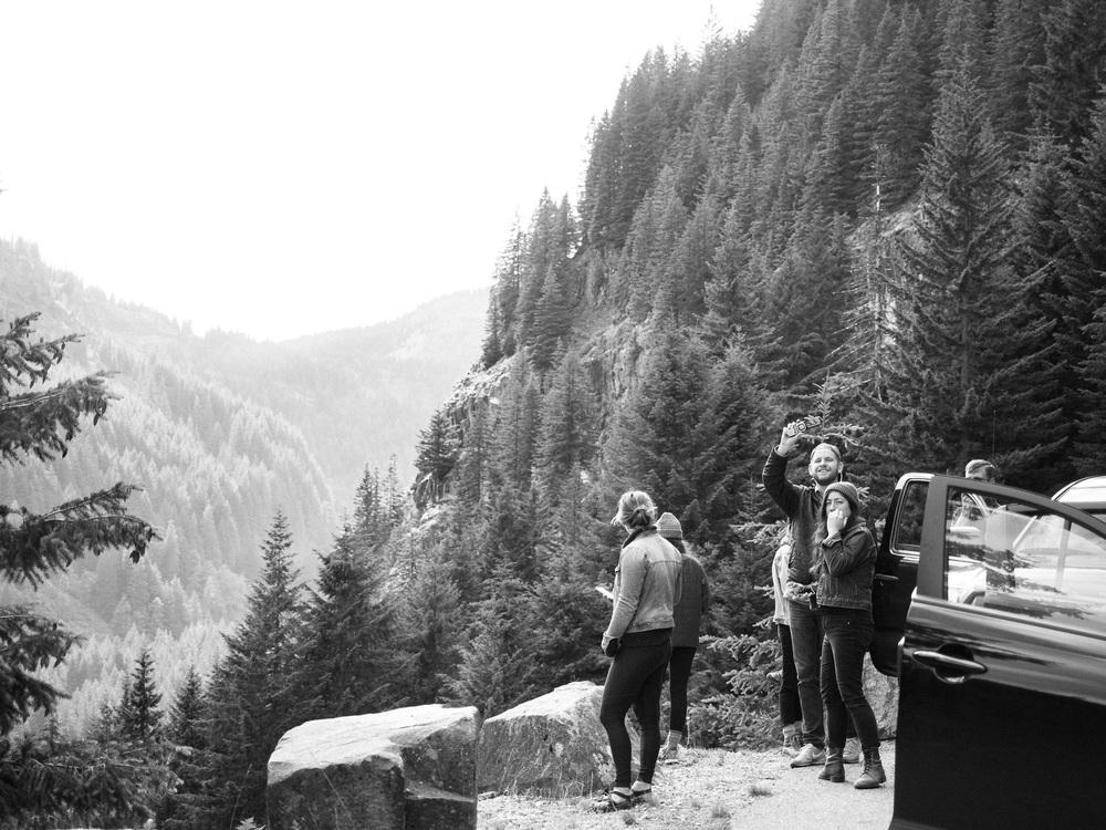 mt rainier camping hiking olympus firends