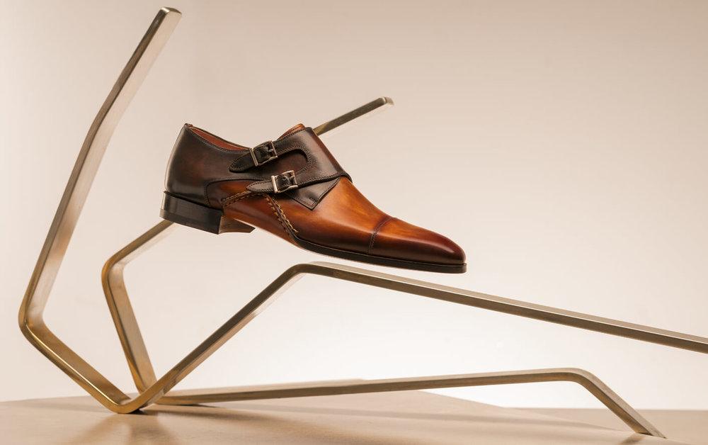 Magnanni Doble Monk Strap Shoes
