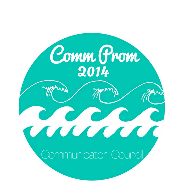 Winning tshirt design for Communication Council's annual boat party
