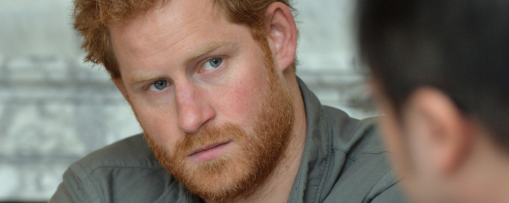 """I started to have a few conversations and actually all of a sudden, all of this grief that I have never processed started to come to the forefront."" - Prince Harry"