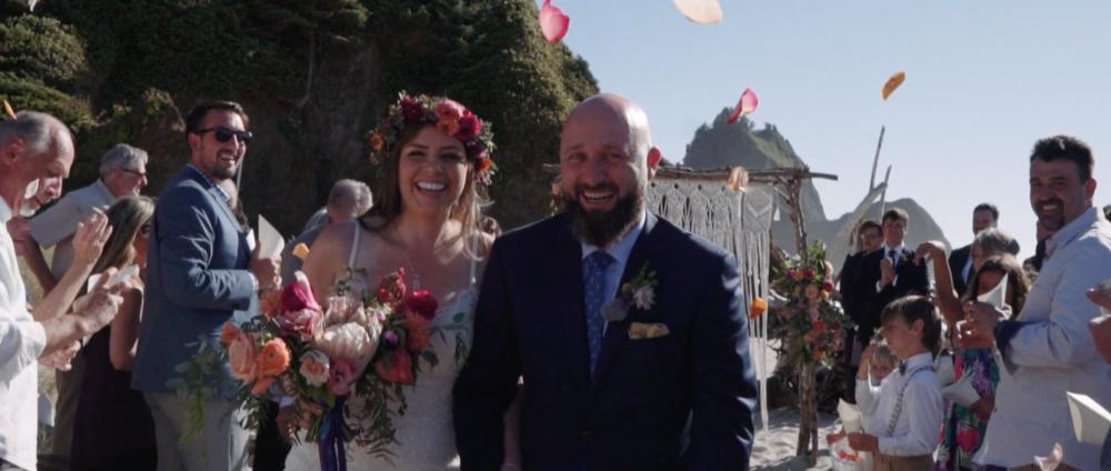 Secluded Oregon Coast Wedding    Stacie + tom    View Wedding