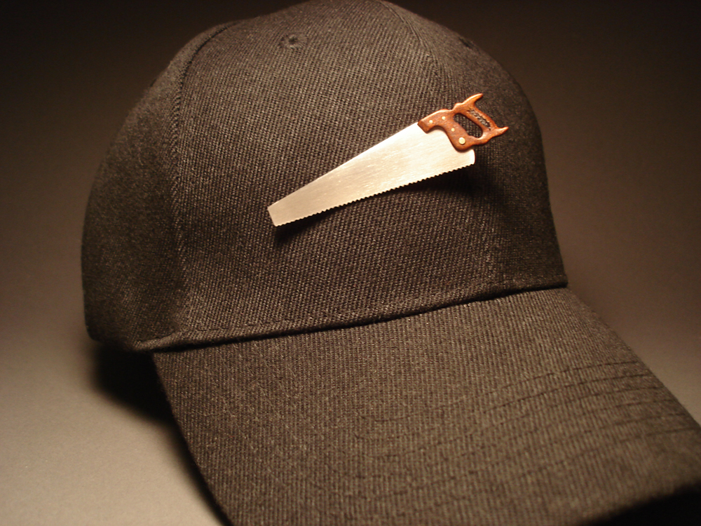 Hansaw on Hat (brown)