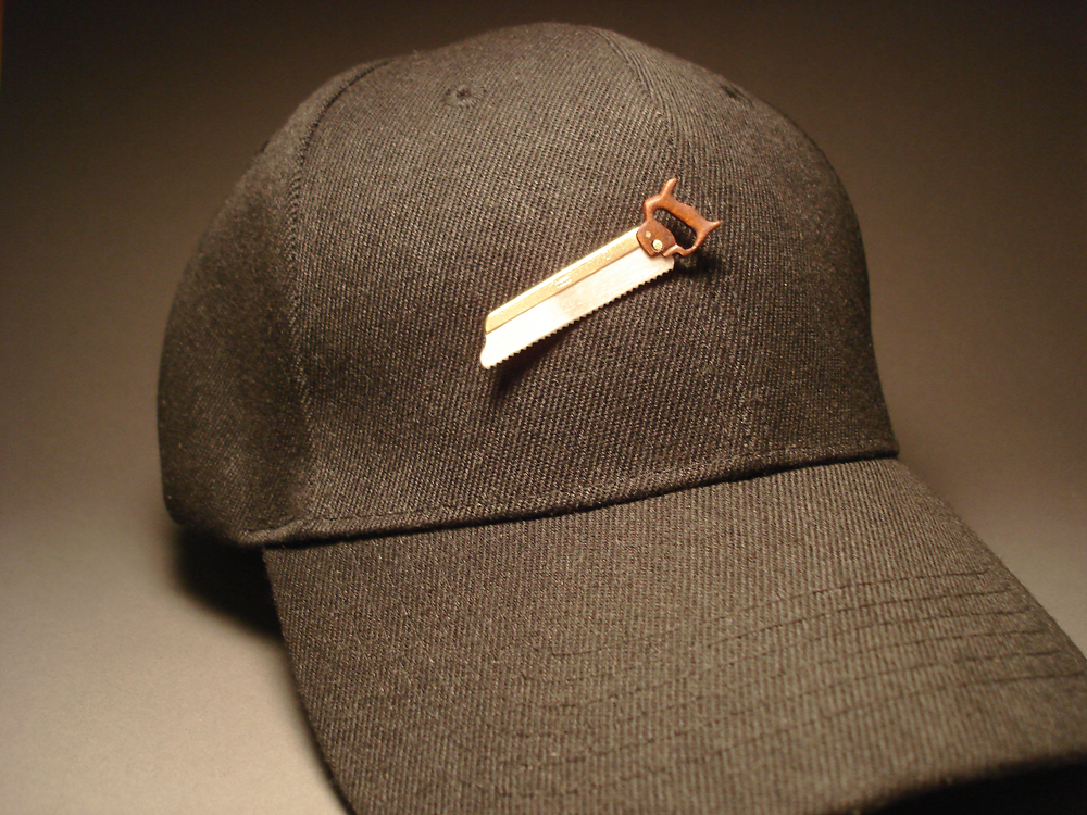 Backsaw on Hat