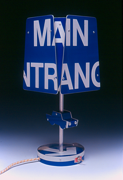 Road Sign Lamp