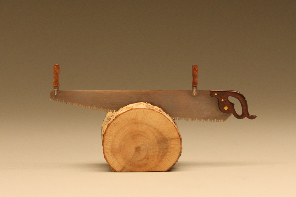Two Man Cross Cut Saw