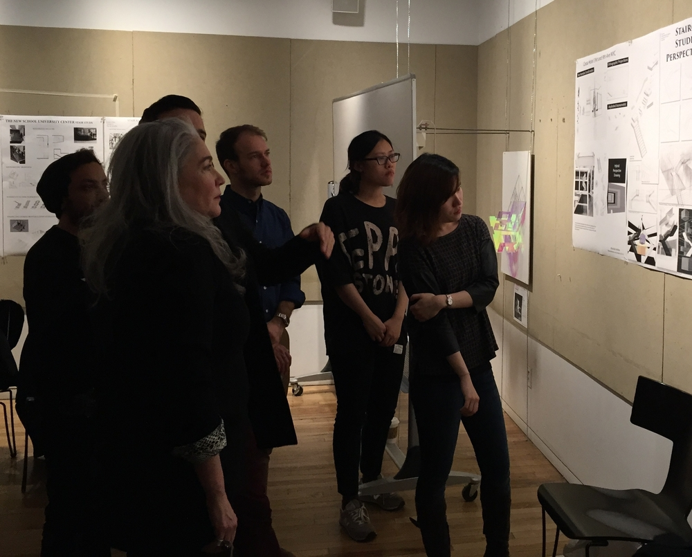 Final Review Fall 2014, Parsons the New School for Design, SCE, with Cody Zalk & Guest critic Manuel Clavel