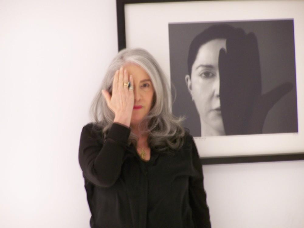 Con Marina Abramovich