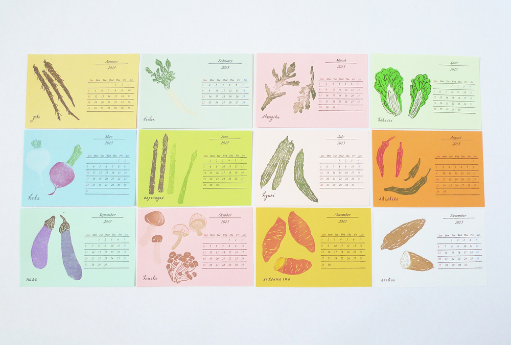 Yasai : A Calendar of Vegetables