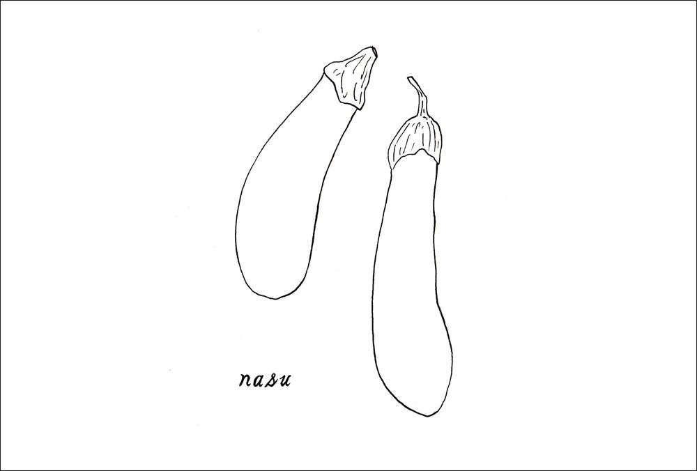 September - Nasu (eggplant)