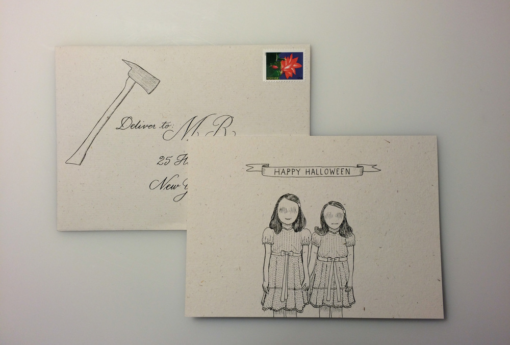 The Shining  Halloween card
