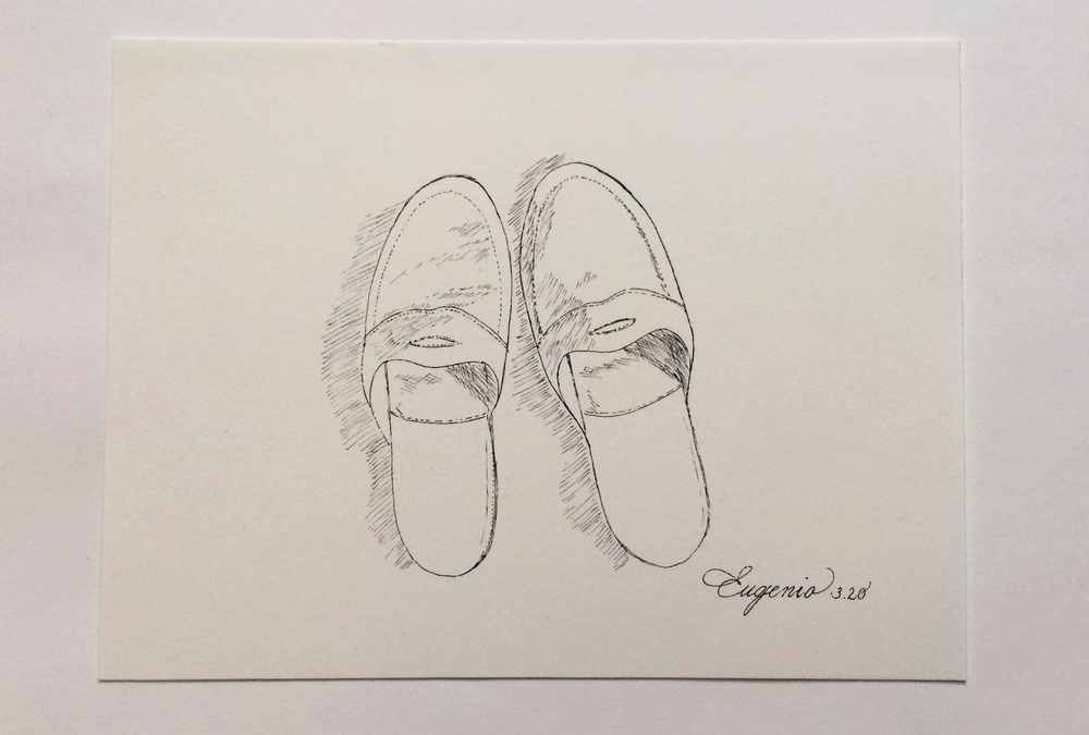 One of the things that I remember most about my grandfather: his slippers.