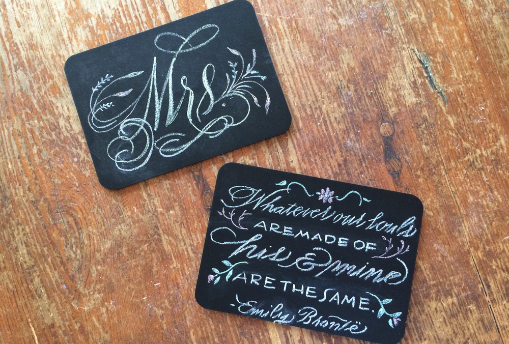 Little Chalkboards