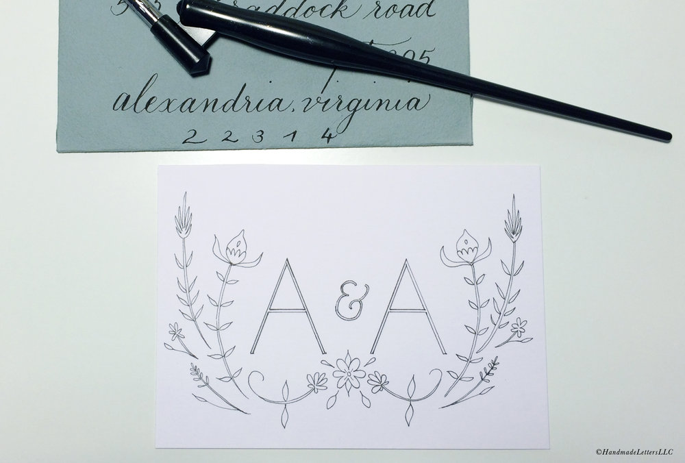Handmade Letters Calligraphy