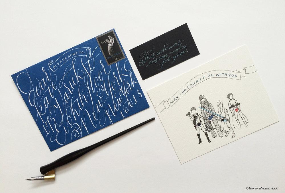 Handmade Letters - Letter for Dear Kate