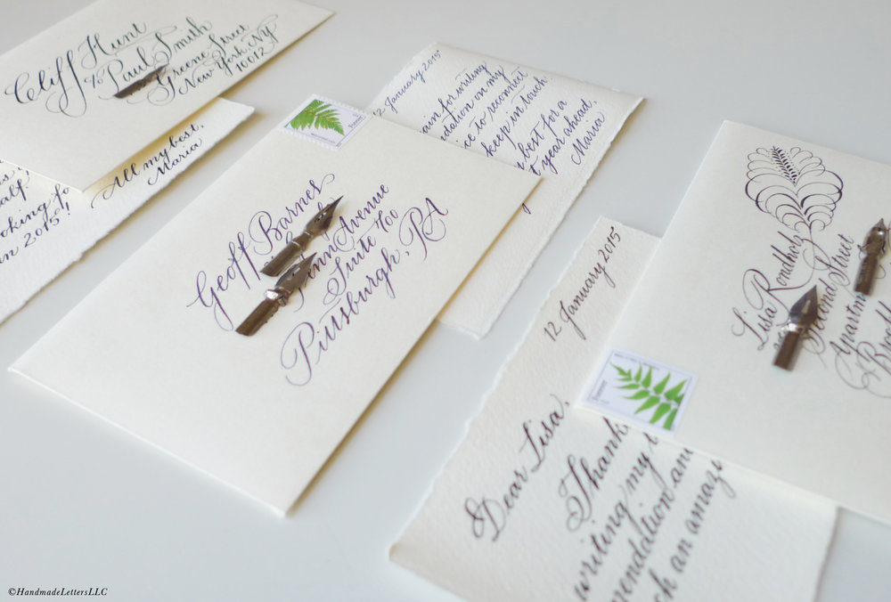 Handmade Letters - Thank You Letters