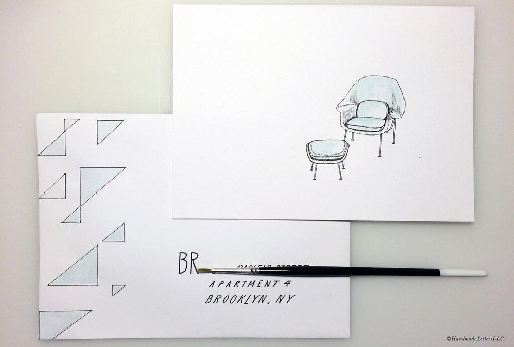 Handmade Letters - Letter for Barbara