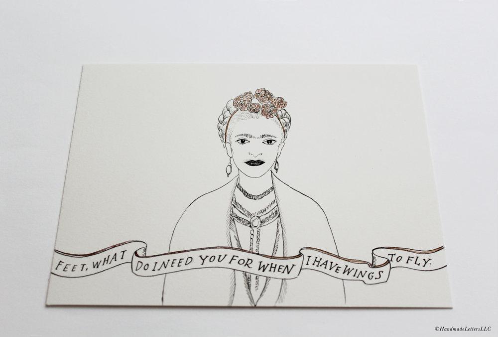 Handmade Letters - Letter for Maryanna