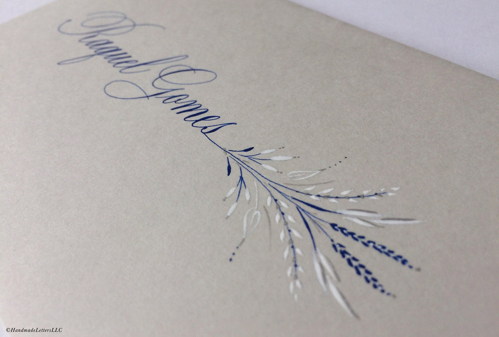 Handmade Letters - Letter for Raquel