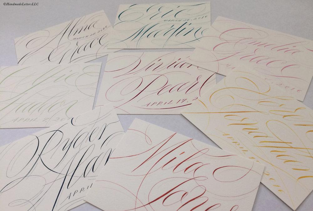 Handmade Letters - Letters for Children
