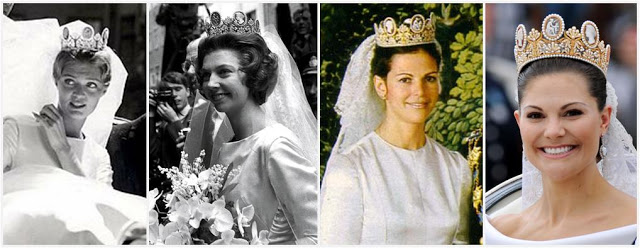 Left to Right: Princess Birgitta, Princess Désirée, Queen Silvia, Crown Princess Victoria