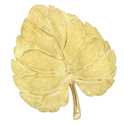 Tiffany & Co. old Aspen Leaf Pin OFFERED BY BETTERIDGE