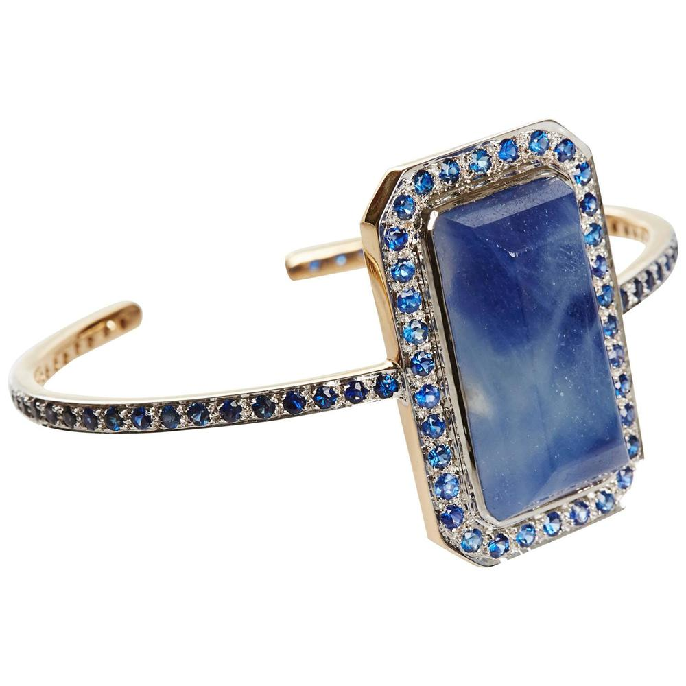 NeverEnding Sapphire Gold Bracelet Offered by  Jade Jagger
