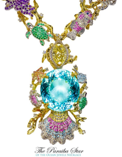 The flawless 191.87 carats Paraiba tourmaline, The Guinness World Records largest, has been placed by experts in the field amongst the world's rarest gems.