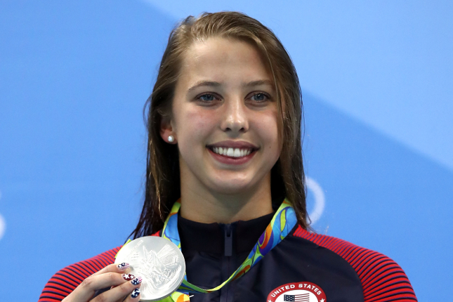 Enjoy your gemstones and metals out of the pool. (Olympic Silver Medalist Kathleen Baker)