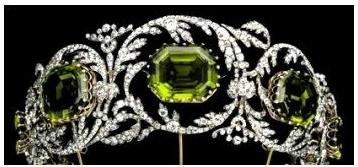 peridot tiara